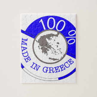 GREECE 100% CREST JIGSAW PUZZLE