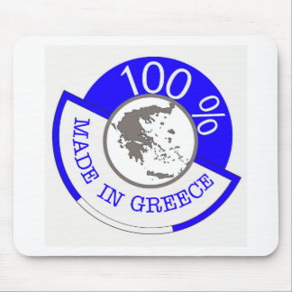 GREECE 100% CREST MOUSE MAT