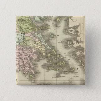 Greece 11 15 cm square badge