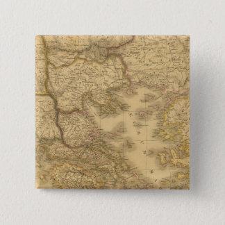 Greece 13 15 cm square badge
