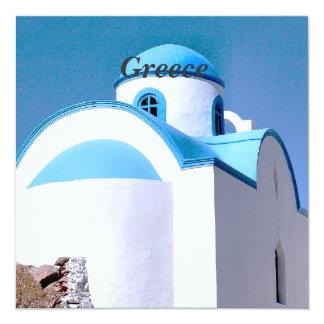 Greece 13 Cm X 13 Cm Square Invitation Card