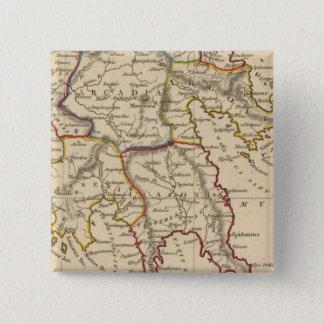 Greece 14 15 cm square badge