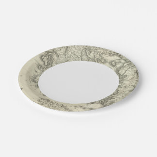 Greece 16 7 inch paper plate