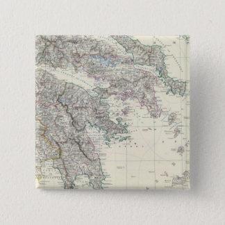 Greece 3 15 cm square badge