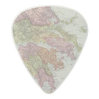 Greece 4 acetal guitar pick