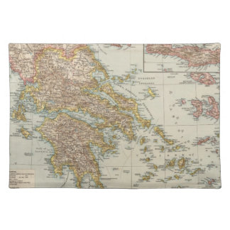 Greece 4 placemat