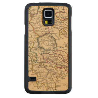 Greece 9 carved maple galaxy s5 case