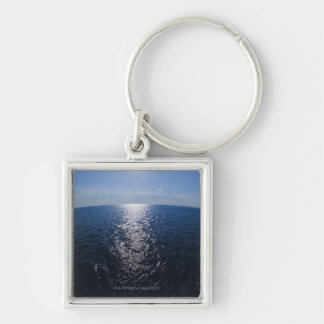 Greece, Aegean Sea horizon Key Ring