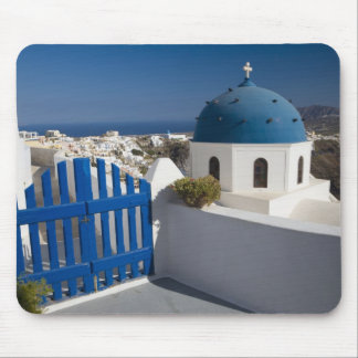 Greece and Greek Island of Santorini from the Mouse Pad