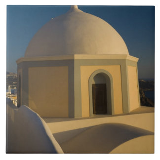 Greece and Greek Island of Santorini town of 2 Tile