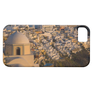 Greece and Greek Island of Santorini town of Barely There iPhone 5 Case