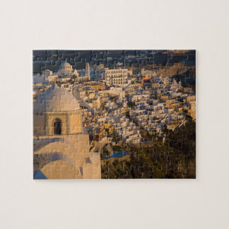 Greece and Greek Island of Santorini town of Jigsaw Puzzle
