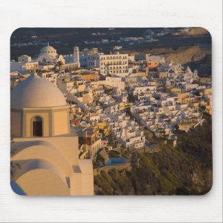 Greece and Greek Island of Santorini town of Mouse Mat
