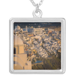 Greece and Greek Island of Santorini town of Pendants
