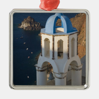 Greece and Greek Island of Santorini town of Oia 2 Christmas Ornament