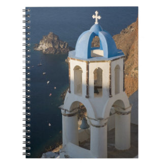 Greece and Greek Island of Santorini town of Oia 2 Notebooks