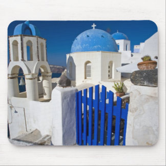 Greece and Greek Island of Santorini town of Oia 3 Mouse Mat
