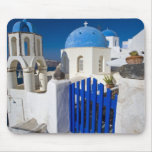 Greece and Greek Island of Santorini town of Oia 3 Mouse Pad