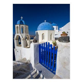 Greece and Greek Island of Santorini town of Oia 3 Postcard