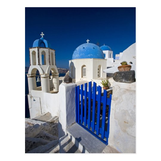Greece and Greek Island of Santorini town of