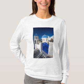 Greece and Greek Island of Santorini town of Oia 3 T-Shirt