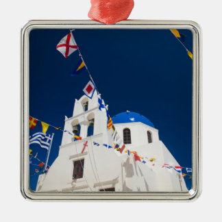 Greece and Greek Island of Santorini town of Oia 4 Christmas Ornament