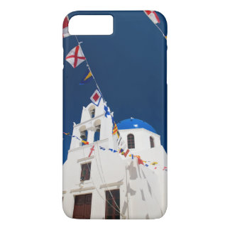 Greece and Greek Island of Santorini town of Oia 4 iPhone 8 Plus/7 Plus Case