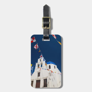 Greece and Greek Island of Santorini town of Oia 4 Luggage Tag