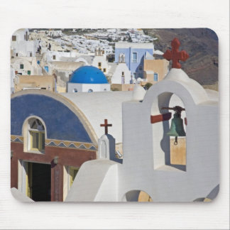 Greece and Greek Island of Santorini town of Oia 5 Mouse Pad
