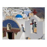 Greece and Greek Island of Santorini town of Oia 5 Post Cards