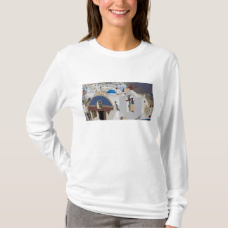 Greece and Greek Island of Santorini town of Oia 5 T-Shirt