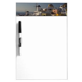 Greece and Greek Island of Santorini town of Oia Dry Erase Board