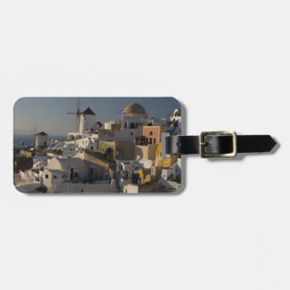 Greece and Greek Island of Santorini town of Oia Luggage Tag
