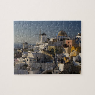 Greece and Greek Island of Santorini town of Oia Puzzles