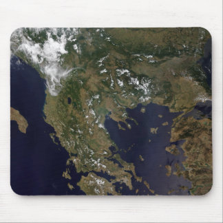 Greece and its surrounding countries mouse pad