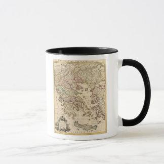 Greece and Macedonia Mug
