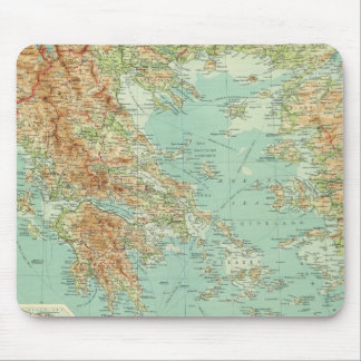 Greece and the Aegean Mouse Mat