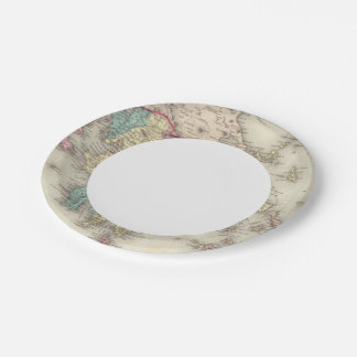 Greece And The Ionian Republic Paper Plate