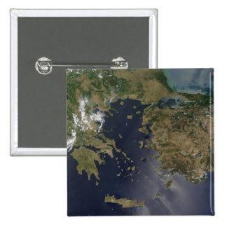 Greece and Turkey 15 Cm Square Badge