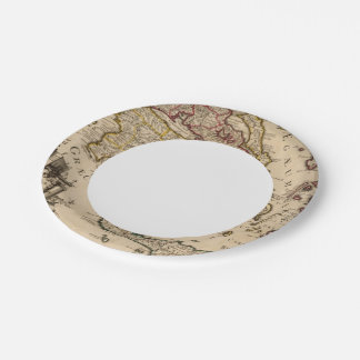 Greece and Turkey 3 7 Inch Paper Plate