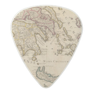 Greece and Turkey 3 Acetal Guitar Pick