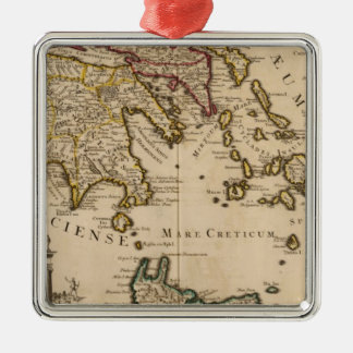 Greece and Turkey 3 Christmas Ornament
