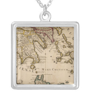 Greece and Turkey 3 Silver Plated Necklace