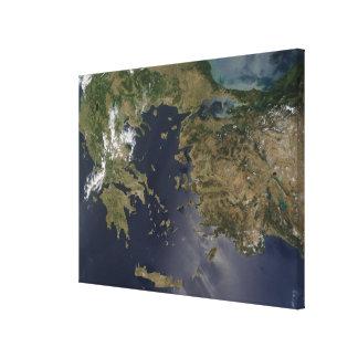 Greece and Turkey Canvas Print