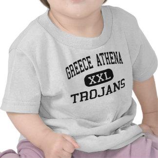 Greece Athena - Trojans - High - Rochester Tshirt