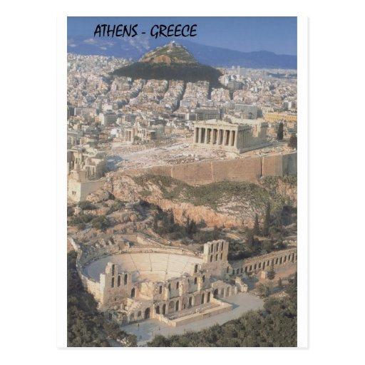 Greece Athens herodion Parthenon (St.K.) Post Card