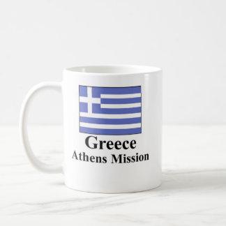 Greece Athens Mission Drinkware Basic White Mug
