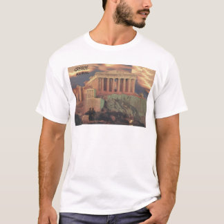 Greece Athens Parthenon Clouds (St.K) T-Shirt
