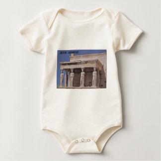 Greece Athens Parthenon-karyatides (St.K) Baby Bodysuit
