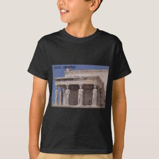 Greece Athens Parthenon-karyatides (St.K) T-Shirt